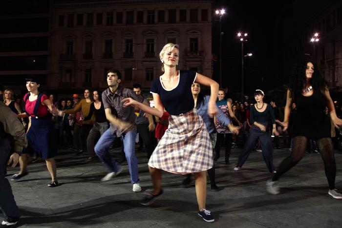 Atenistas; Athens Lindy Hop; culture; dance; dancers; Events; happening; jazz; Night; Omonia Square; party; swing; Ατενίστας; Ομόνοια; σουίνγκ; τζαζ; χάπενινγκ; χορευτές; χορευτής; χορός